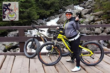 Elektrobicyklistika prospešná k zdraviu _ ilustračné foto autorky