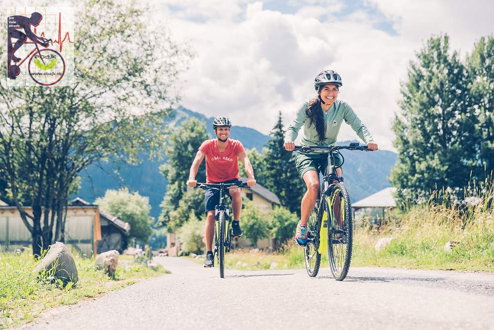 Relaxačné účinky jazdy na elektrobicykli