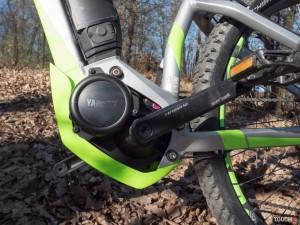 elektrobicykel Haibike HardNine 4.0 Motor TouchIt