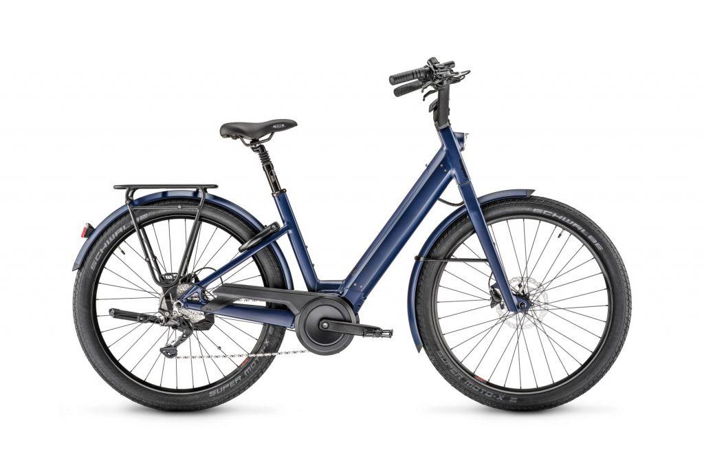 elektrobicykel Moustache lundi blue